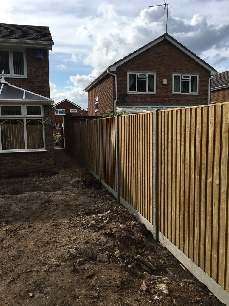 wood fence panels dimensions
