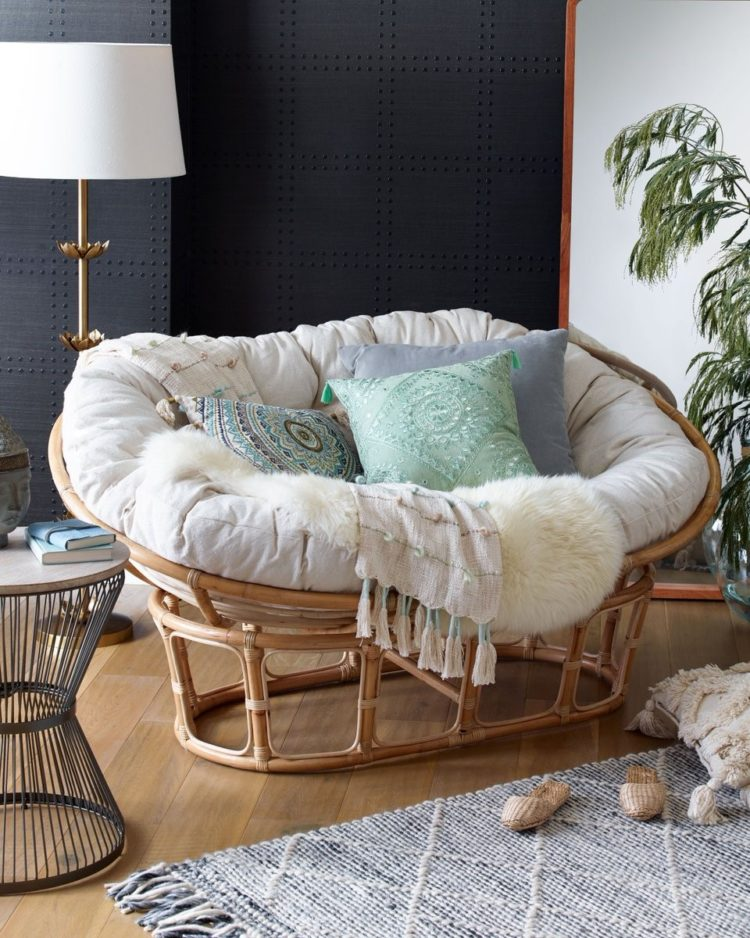 papasan chair for pets