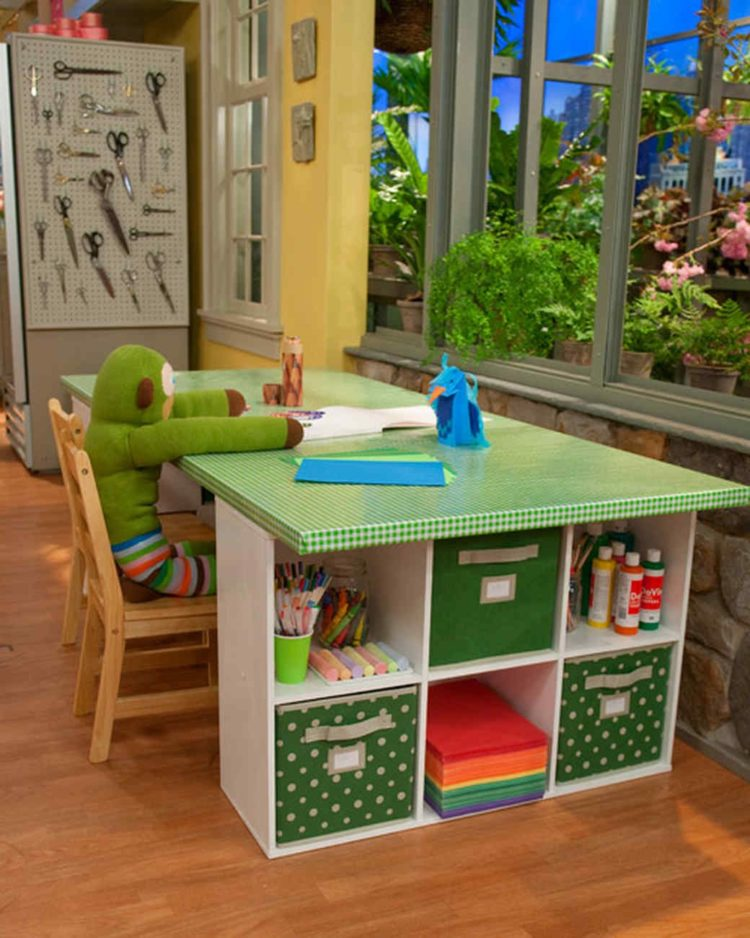 childrens table and chairs dark wood