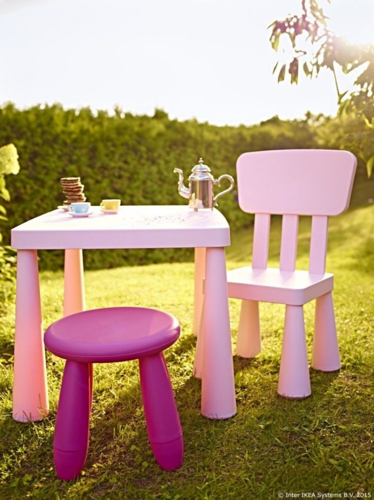 childrens table and chairs dimensions
