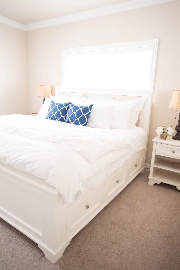 king size bed frame middle support