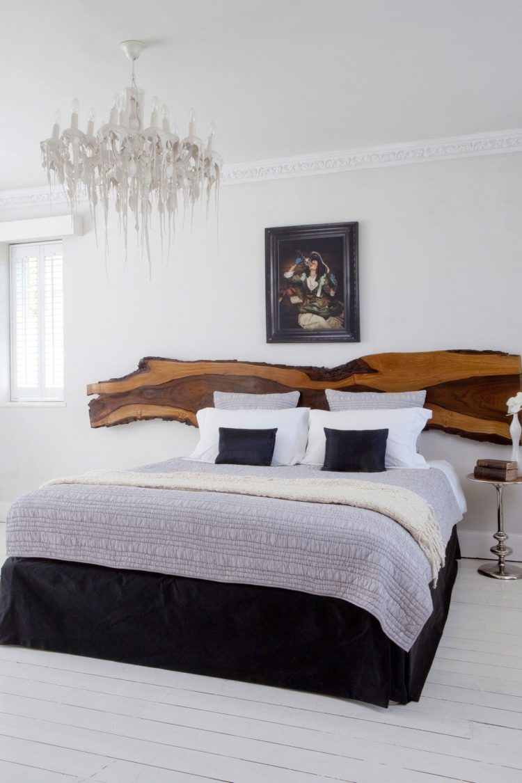 king size bed frame high rise