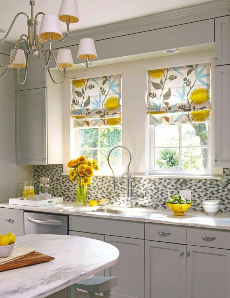 kitchen curtains with valance