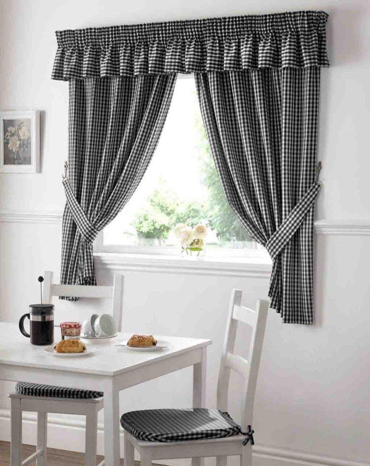 kitchen curtains farmhouse