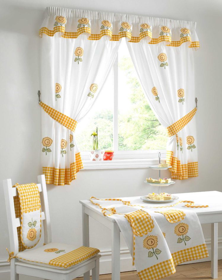 kitchen curtains cafe style