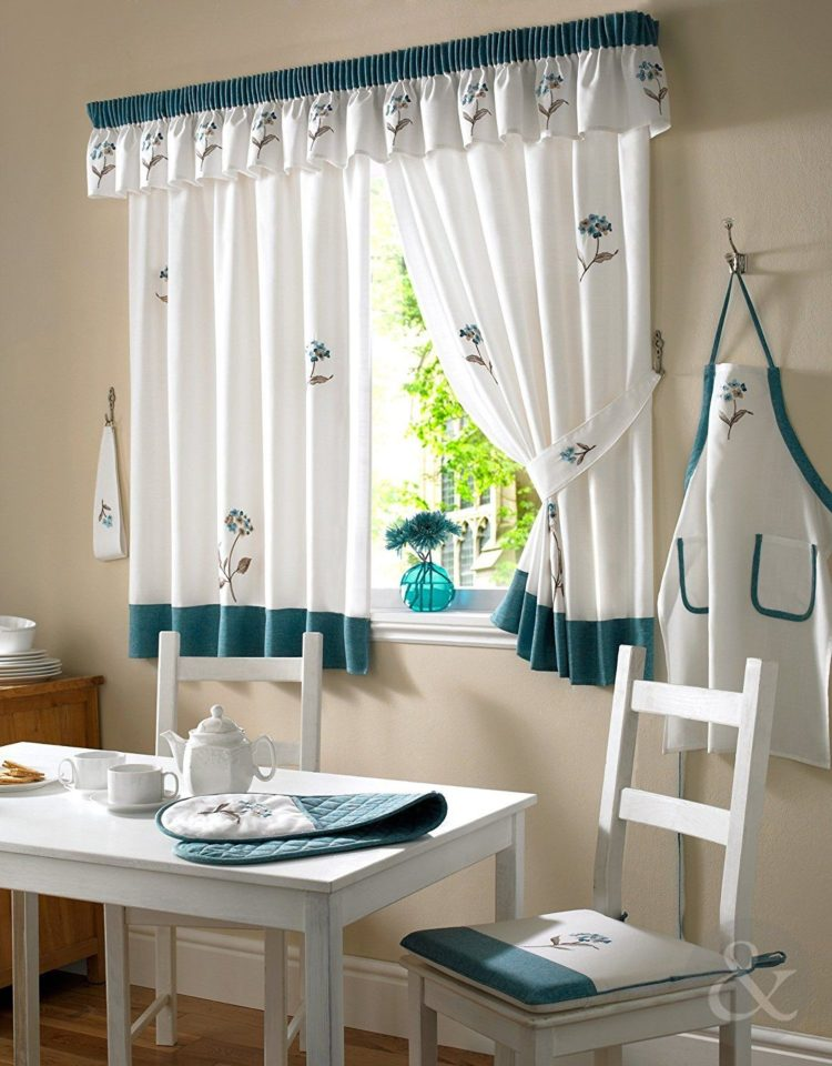kitchen curtains designs
