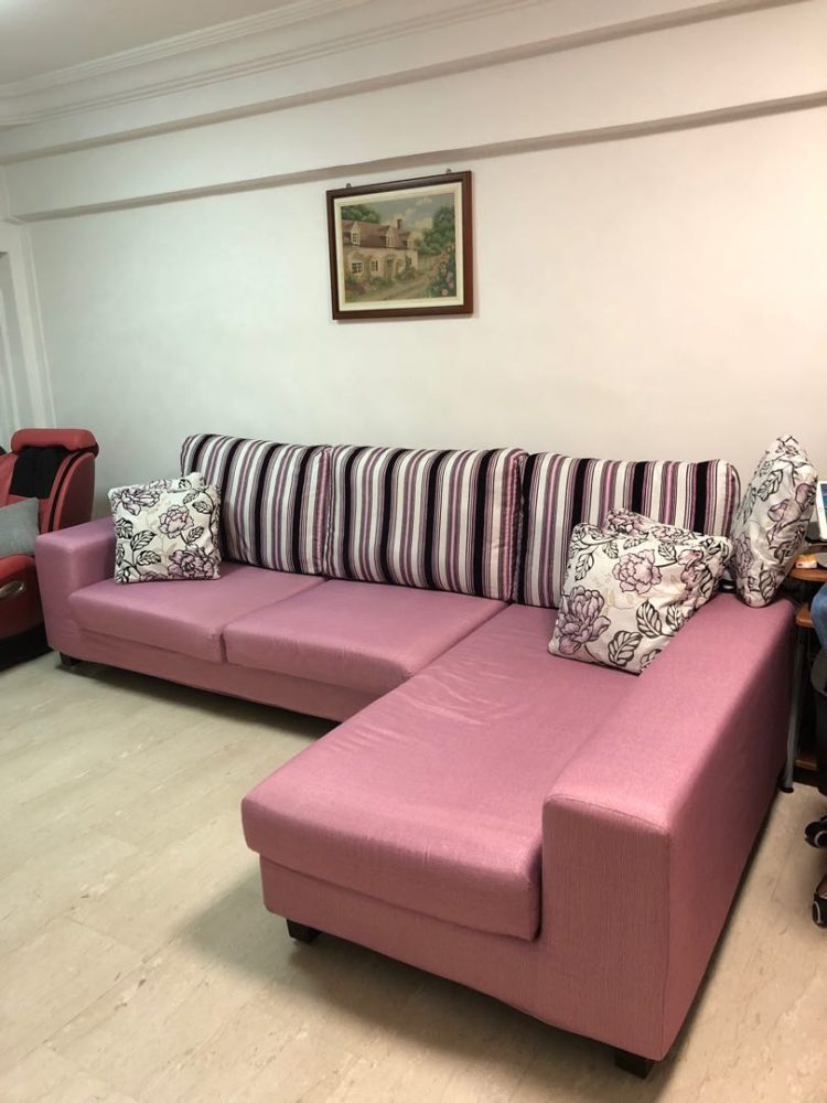 l shaped couch havertys