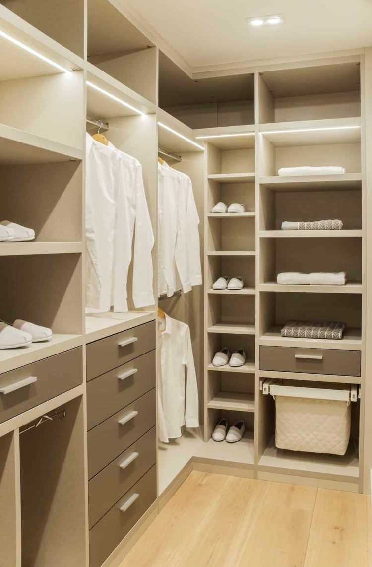 big closet in the world