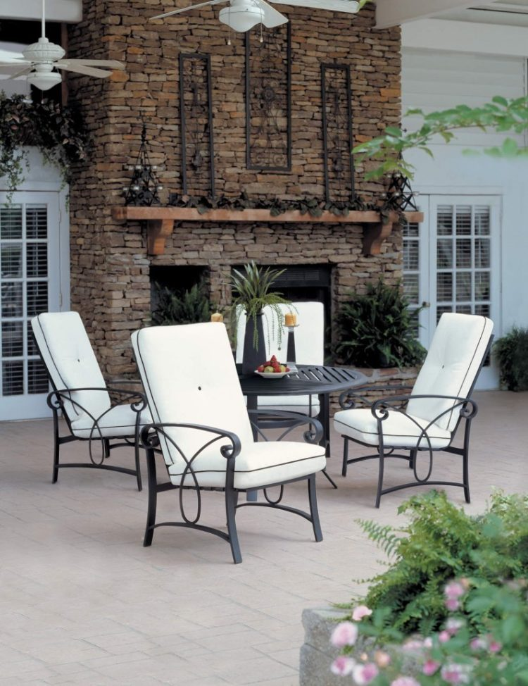 outdoor chairs indoors