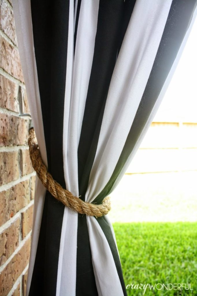 outdoor curtains panels