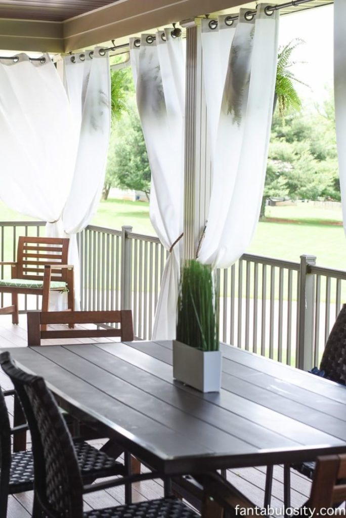 outdoor valances curtains