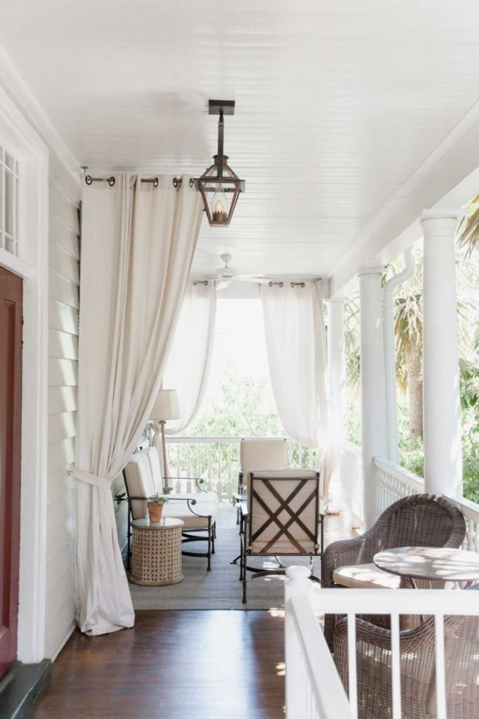 outdoor curtains rings