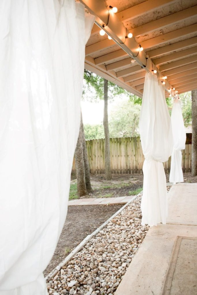 outdoor curtains with weights