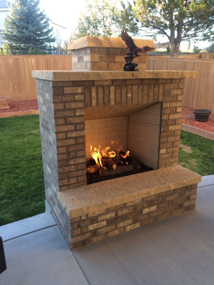 outdoor fireplace lid