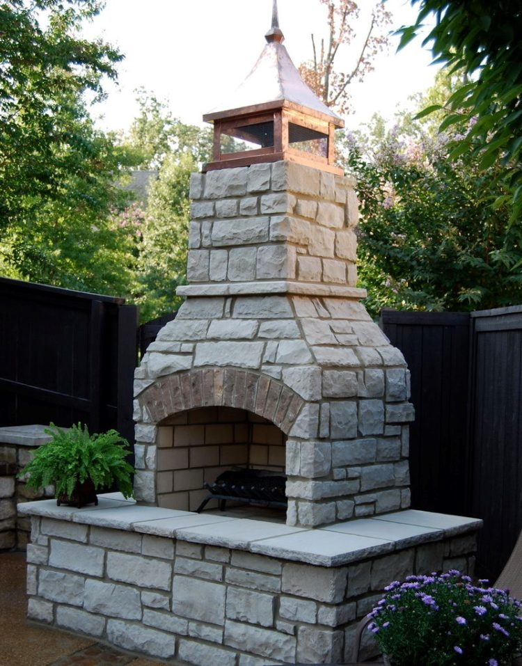 outdoor fireplace ideas diy