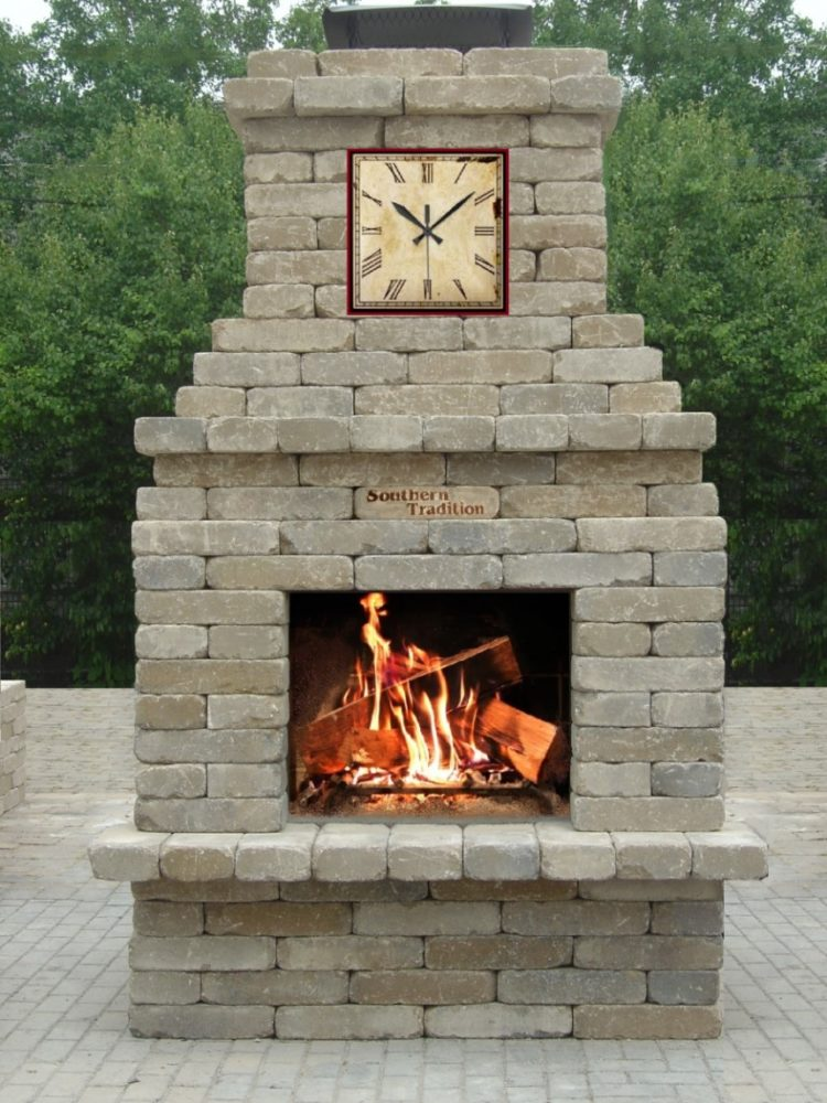 outdoor fireplace heater