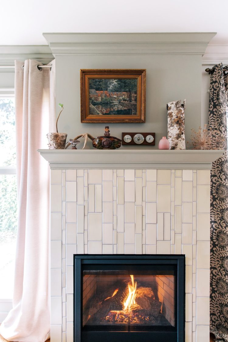 ventless gas fireplace making soot