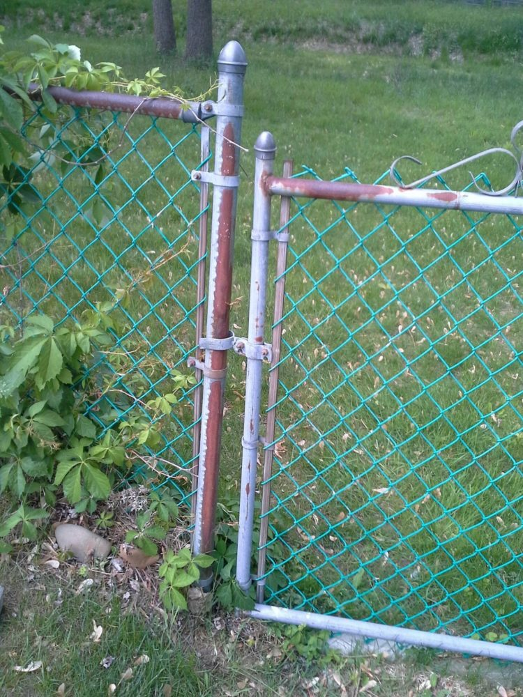 chain link fence gate sizes
