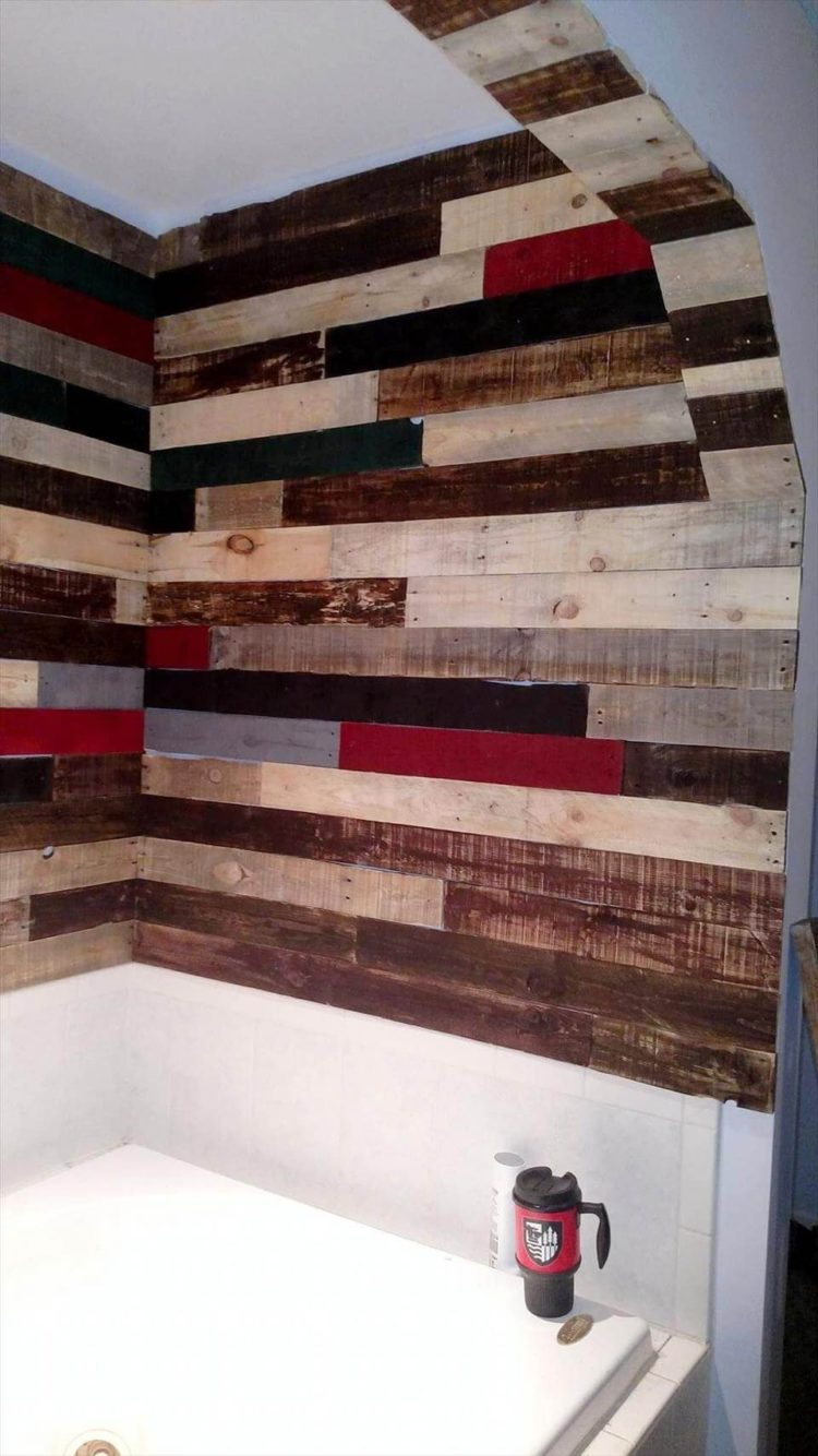 pallet wall images
