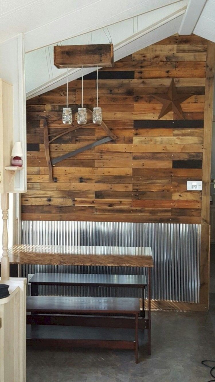pallet wall how to make