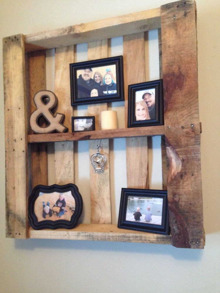 pallet wall for party