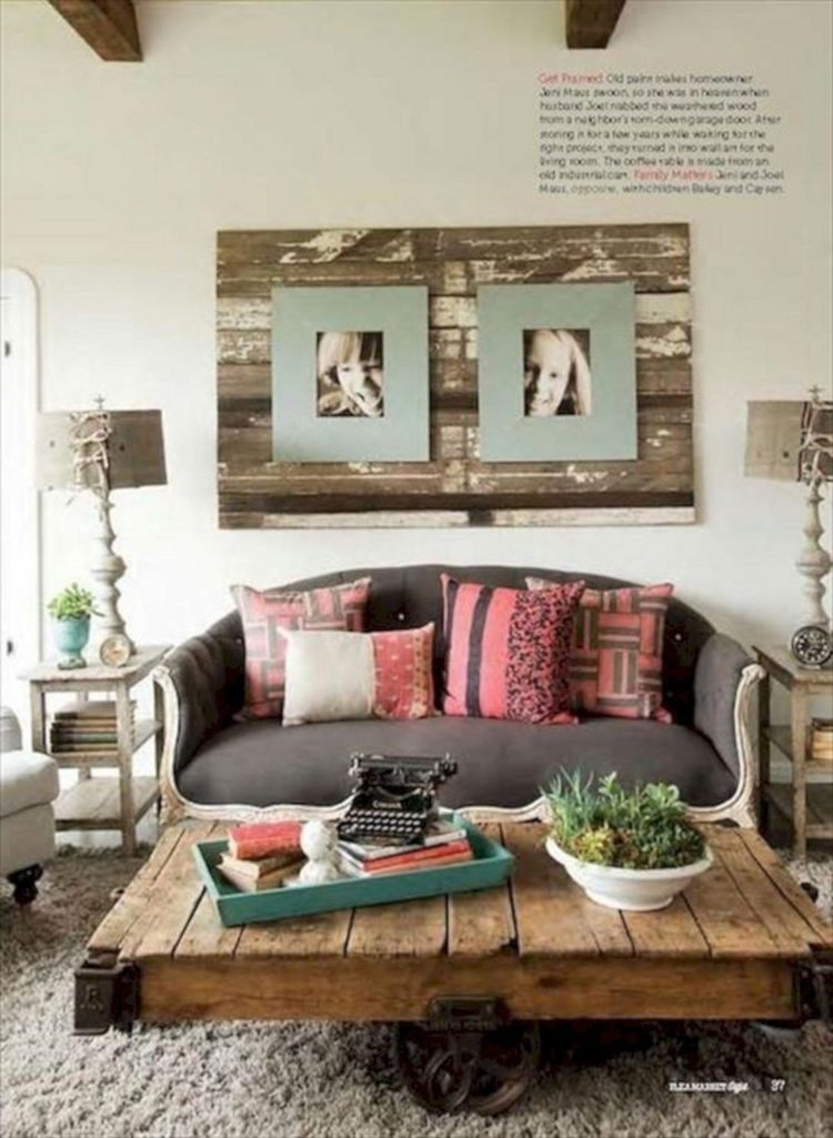 pallet wall for tv