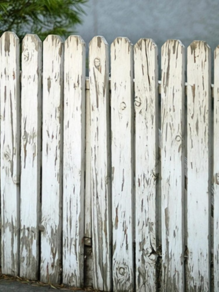 white picket fence examples