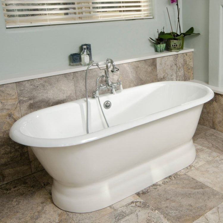 clawfoot tub exterior paint