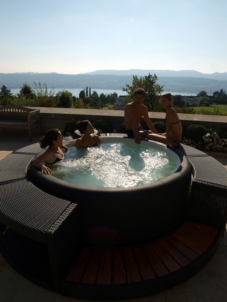 portable hot tub pool combo