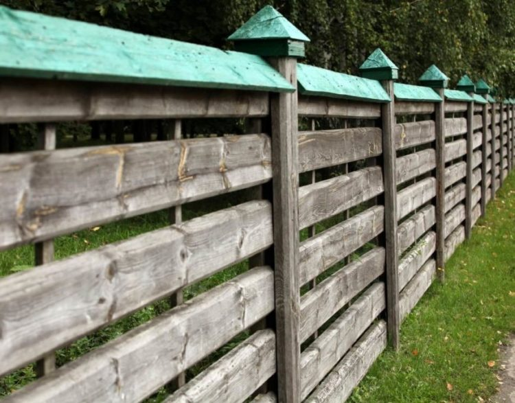 wood fence extension