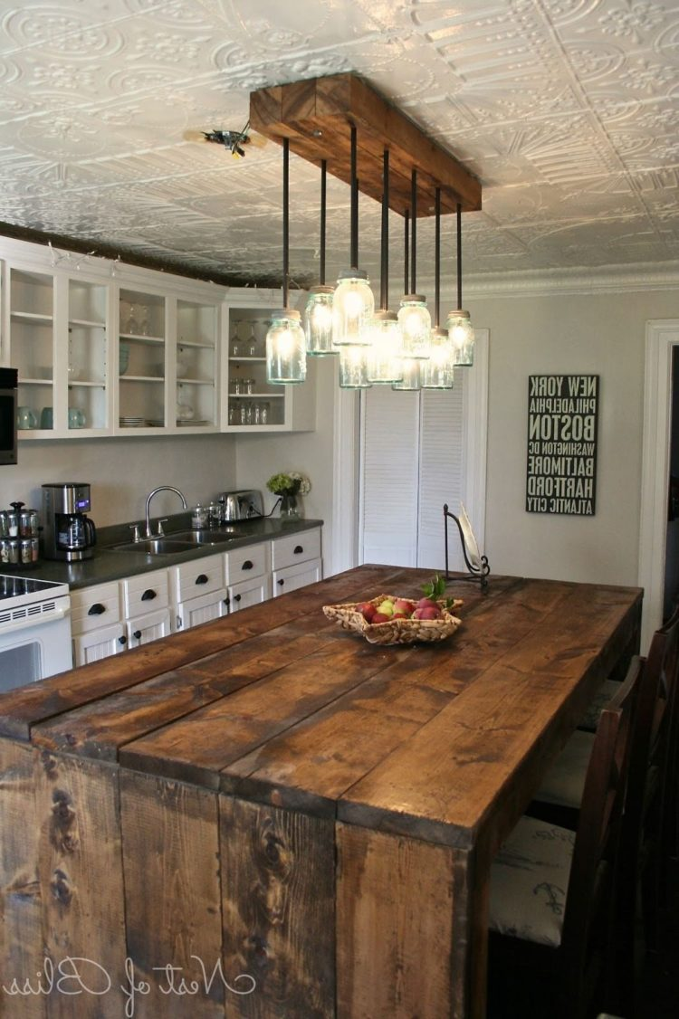 rustic kitchen on a budget