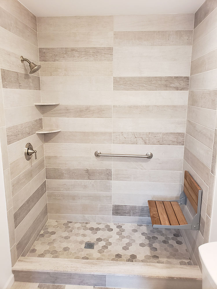 50+ Best Shower Bench Ideas - Relaxing Bathroom Seat Designs