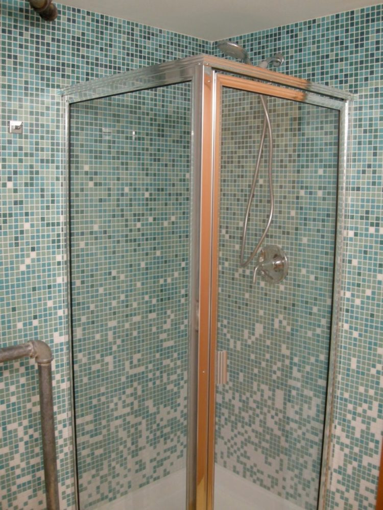 shower wall panels green