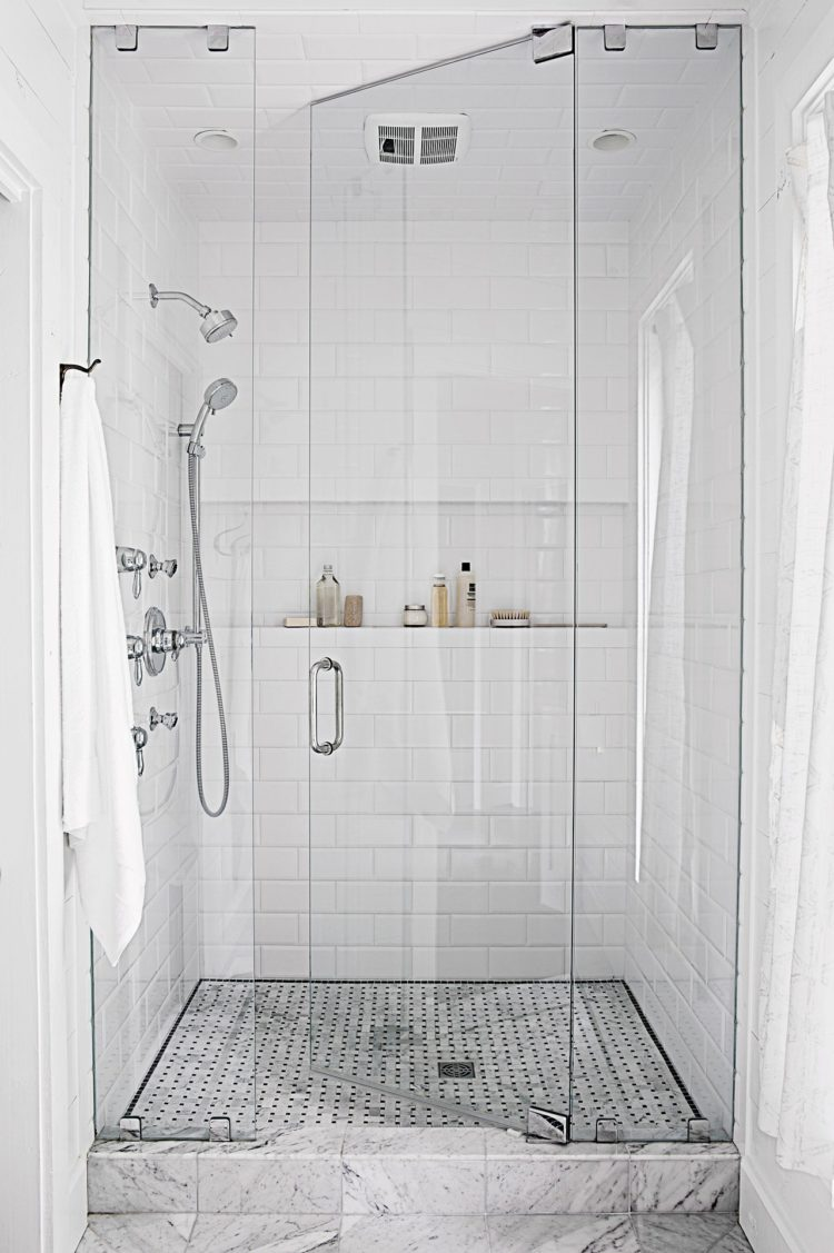 shower wall panel grey