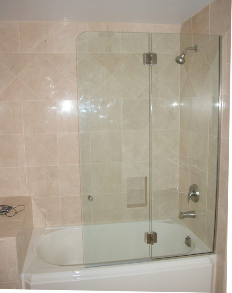 shower wall panel glass