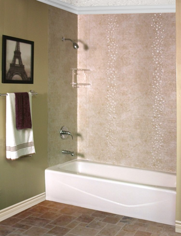 shower wall panels france