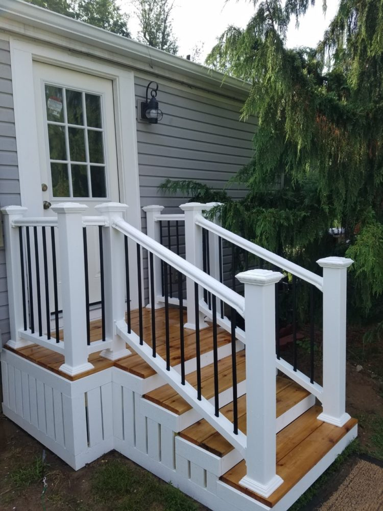 deck railing ideas prices