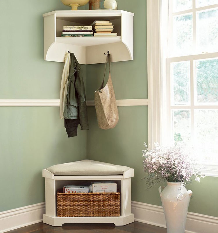 storage bench for living room