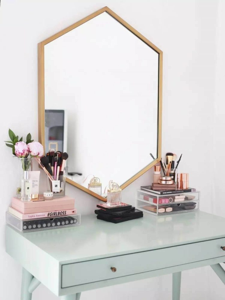 vanity mirror installation