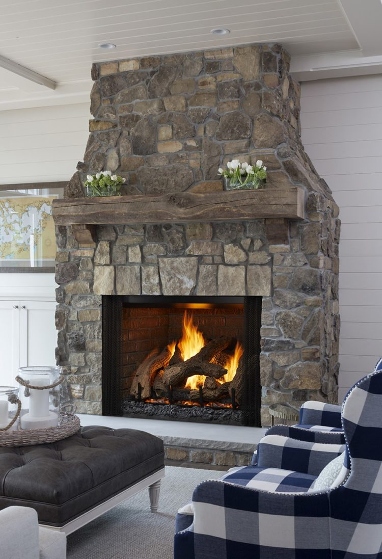 ventless gas fireplace fumes