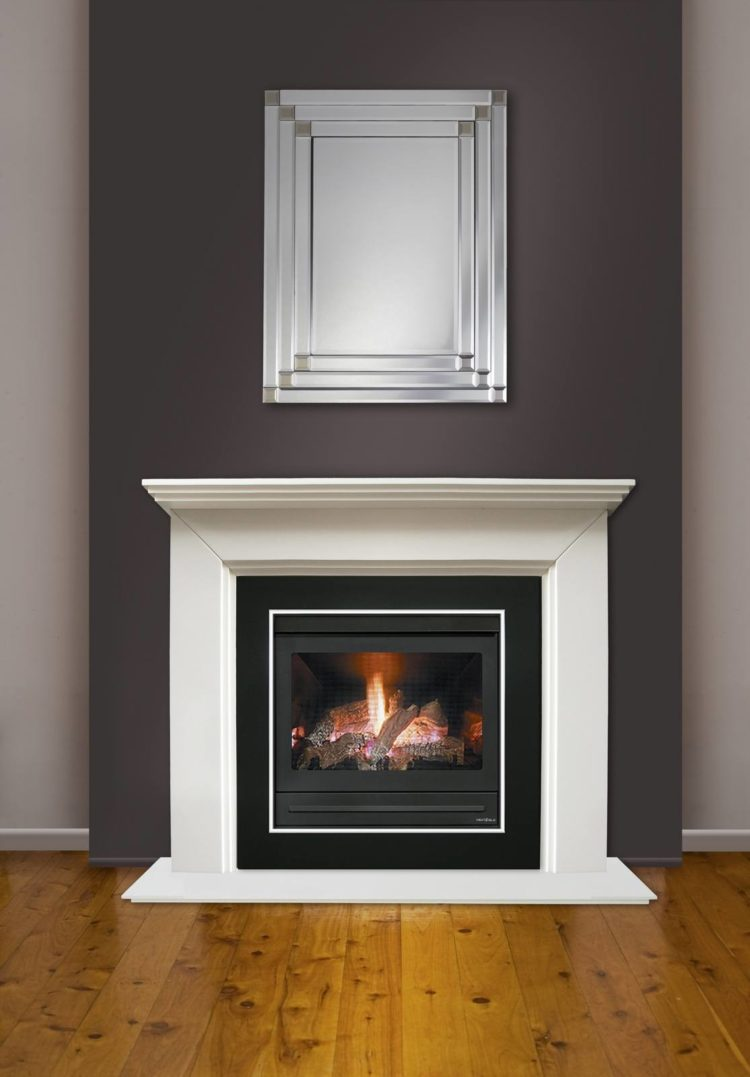 ventless gas fireplace emissions