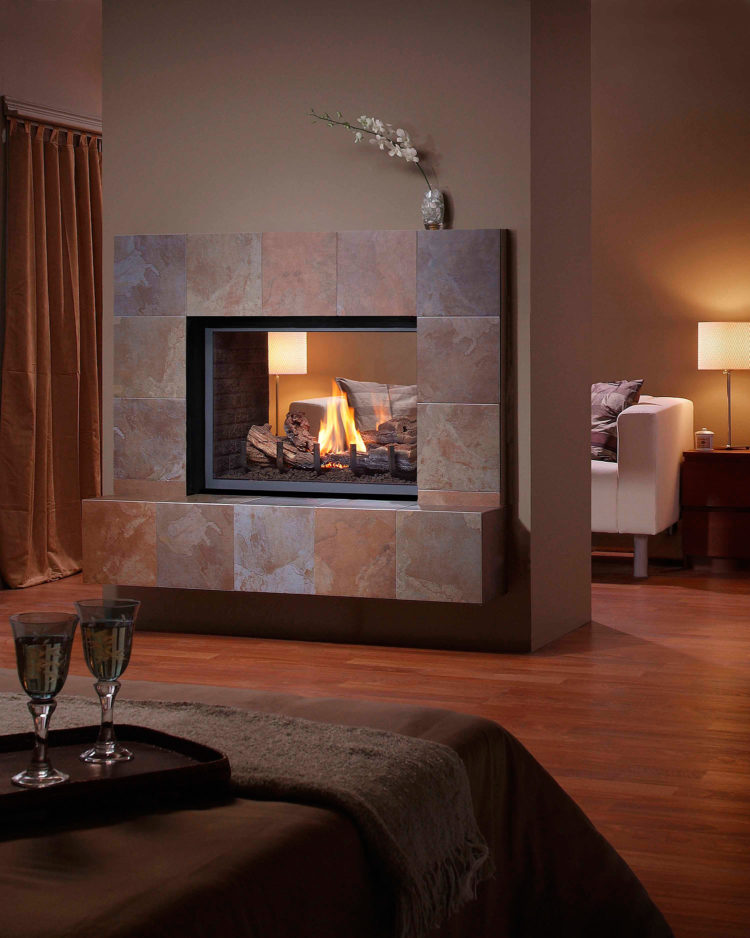 ventless gas fireplace options