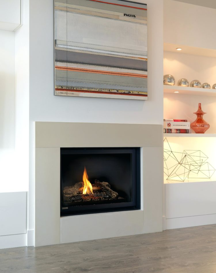 ventless gas fireplace inspection