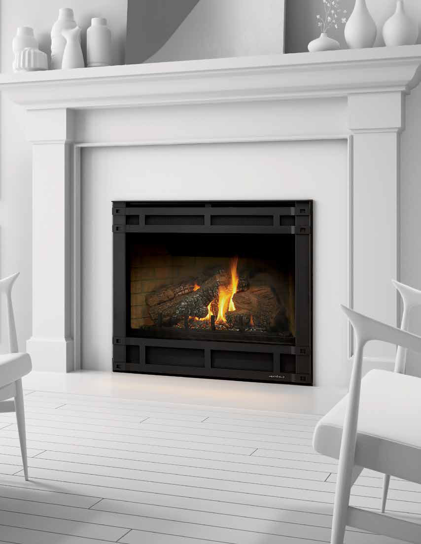 ventless gas fireplace parts