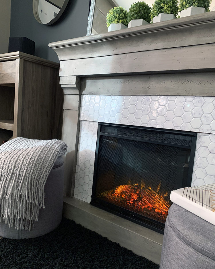 ventless gas fireplace pictures