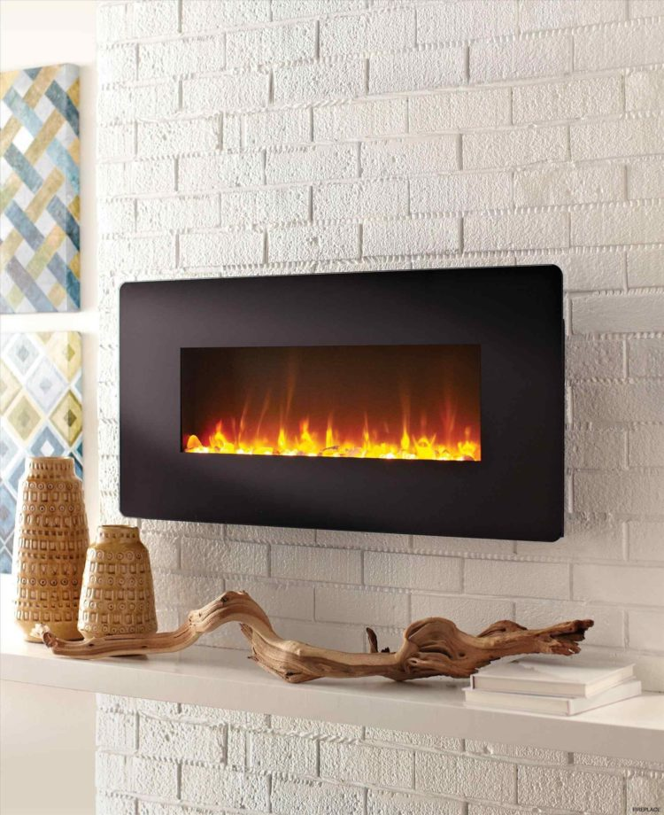 ventless gas fireplace has odor