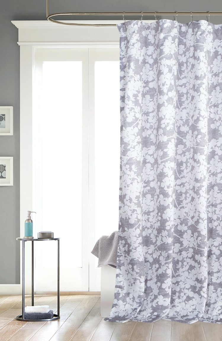 hookless shower curtain on qvc