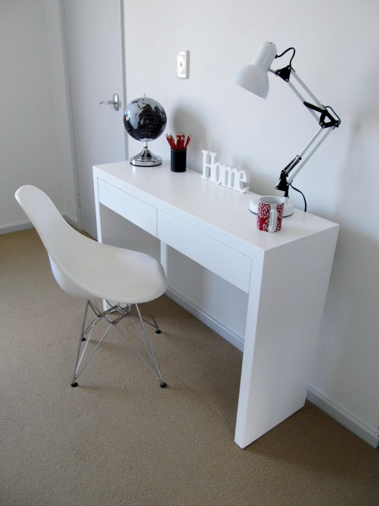 white desk l shaped