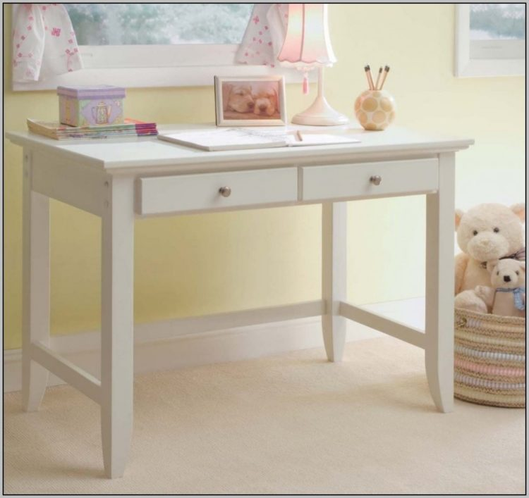 white desk pottery barn