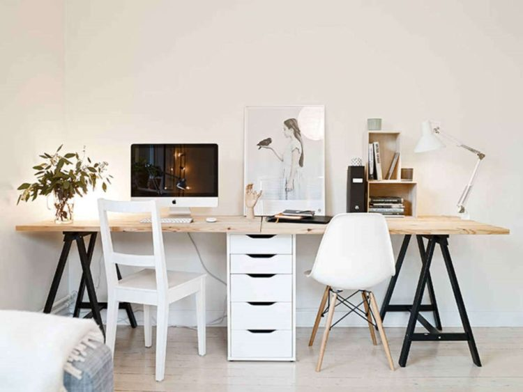 white desk near me